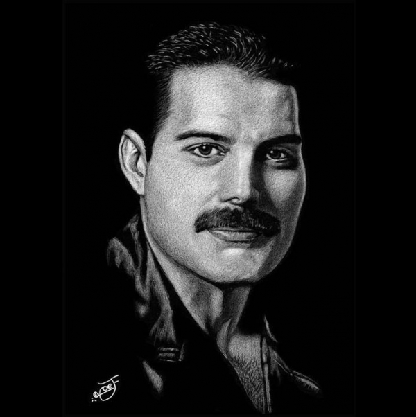 Freddie Mercury by JoeJose